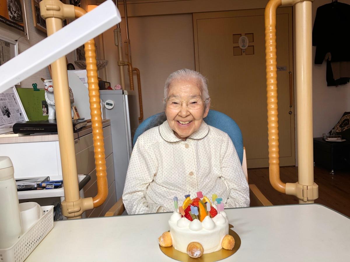 *㈷*谷口 緑先生・96歳誕生日✟❤✟